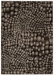 Michael Amini Glistening Nights Ma509 Black Area Rug