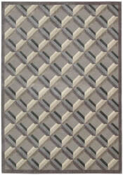 Nourison Graphic Illusions Gil22 Stone Area Rug