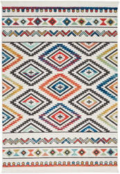 Nourison Navajo Nav06 White Area Rug
