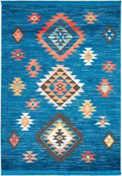 Nourison Navajo Nav07 Blue Area Rug