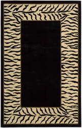 Nourison Dimensions ND-25 Black Area Rug