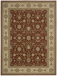 Nourison Persian Crown Pc001 Brick Area Rug