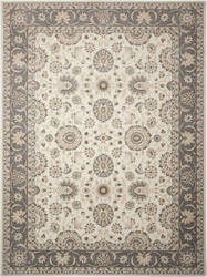 Nourison Persian Crown Pc002 Ivory - Grey Area Rug