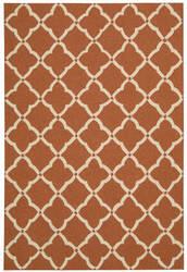 Nourison Portico Por01 Orange Area Rug