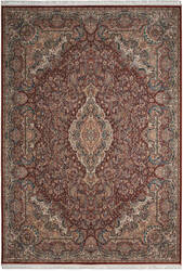 Nourison Persian Palace Ppl02 Terracotta Area Rug