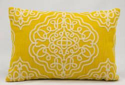 Nourison Pillows Wool Q5116 Buttercup