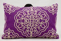 Nourison Pillows Wool Q5116 Violet