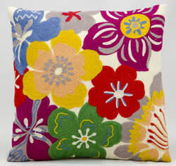 Kathy Ireland Pillows Q5148 Multicolor