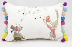 Nourison Pillows New Generation R0160 White