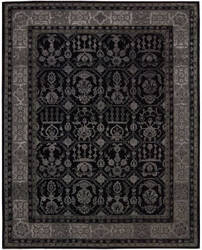 Nourison Regal Reg01 Black Area Rug