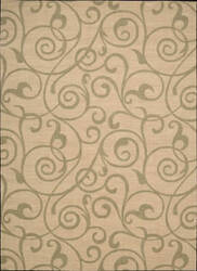 Nourison Riviera RI-03 Light Gold Area Rug