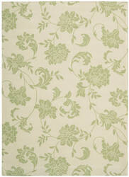 Nourison Home and Garden RS-014 Green Area Rug