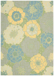 Nourison Home And Garden Rs021 Green Area Rug