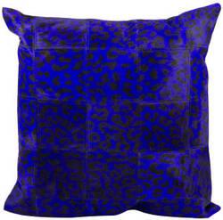 Nourison Pillows Natural Leather Hide S1500 Purple