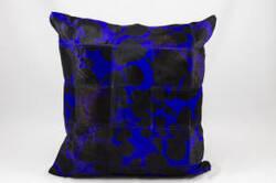 Nourison Pillows Natural Leather Hide S1999 Purple