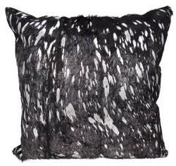 Nourison Mina Victory Pillows S6129 Black Silver