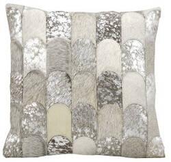 Kathy Ireland Pillows S6275 Silver Grey