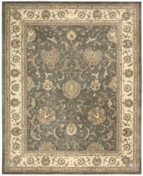 Nourison Silk Touch Sch03 Grey Area Rug