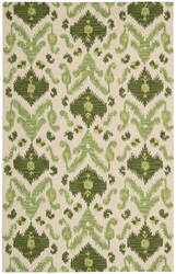 Nourison Siam SIA-01 Ivory Green Area Rug