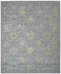 Nourison Silk Infusion Sif01 Blue Area Rug