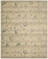 Nourison Silk Elements Ske28 Beige Area Rug