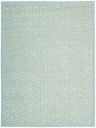 Nourison Silken Textures Skt02 Aqua Area Rug