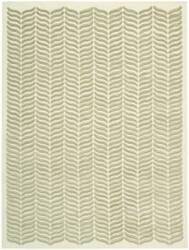 Nourison Silken Textures Skt02 Light Green Area Rug