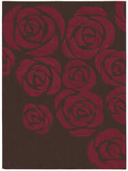 Nourison Skyland SKY-03 Brown-Red Area Rug
