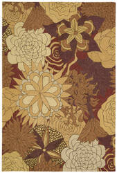 Nourison South Beach Sou07 Spice Area Rug