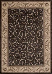 Nourison Somerset St02 Charcoal Area Rug