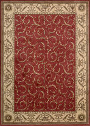 Nourison Somerset St02 Red Area Rug