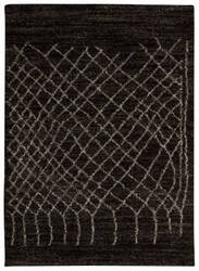 Nourison Tangier Tan05 Black Area Rug