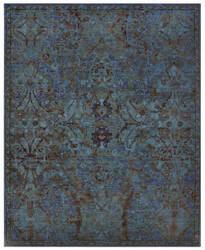Nourison Timeless Tml02 Peacock Area Rug