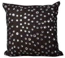Nourison Pillows Luminescence V4055 Black