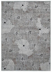 Nourison Verdant Vdt02 Soft Medium Black Area Rug