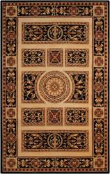 Nourison Versailles Palace Vp21 Ivory - Black Area Rug