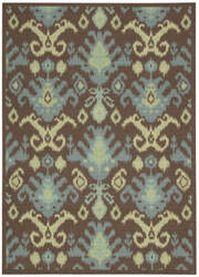 Nourison Vista VIS-20 Chocolate Area Rug