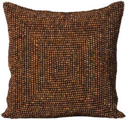 Nourison Pillows Wood Beads W1005 Brown