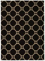 Nourison Color Motion Wcm08 Black Area Rug