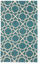 Nourison Color Motion Wcm11 Teal Area Rug