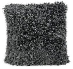 Nourison Shag Pillow We210 Charcoal