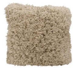 Nourison Shag Pillow We307 Beige