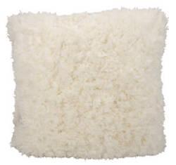 Nourison Shag Pillow We307 Ivory
