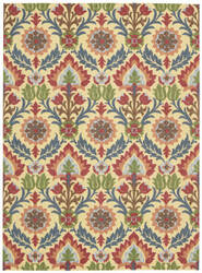 Nourison Waverly Global Awakening Wga03 Spice Area Rug