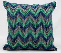 Kathy Ireland Pillows Z1101 Blue Grey