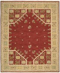 Nourison Suf-I-Noor SF-35 Red Area Rug