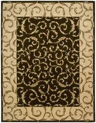 Nourison Versailles Palace VP-43 Chocolate Area Rug