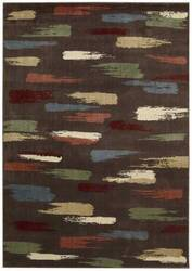 Nourison Expressions XP-10 Chocolate Area Rug