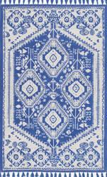 Nuloom Flatweave Noreen Blue Area Rug