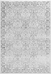 Nuloom Vintage Trellis Amaral Grey Area Rug